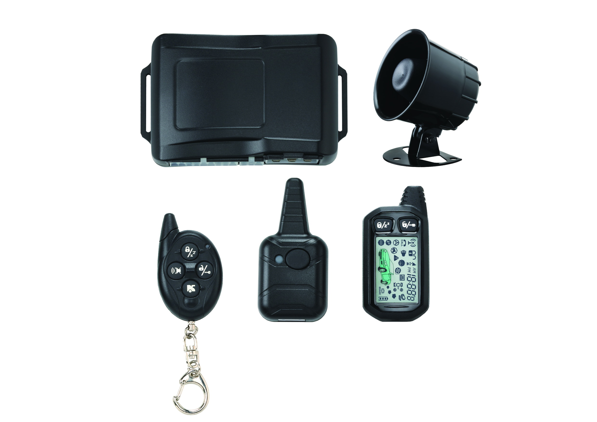 Automotives Manufacturersyisen Technologycar Alarm Systems Remote Starter Product Car 8000 2 Way System